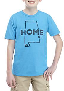 TRUE CRAFT Boys 8-20 Alabama Home Tee