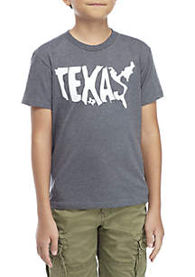TRUE CRAFT Boys 8-20 Texas State Tee