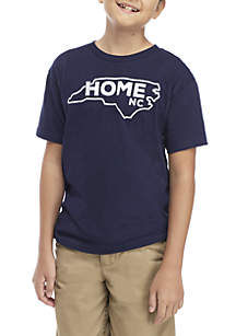 TRUE CRAFT Boys 8-20 North Carolina Home Tee