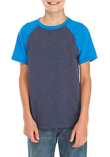 Boys 8-20 Colorblock Raglan Top
