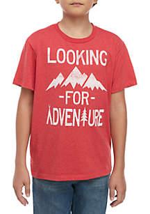 TRUE CRAFT Boys 8-20 Looking For Adventure T Shirt