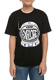 TRUE CRAFT Boys 8-20 Go Explore T Shirt