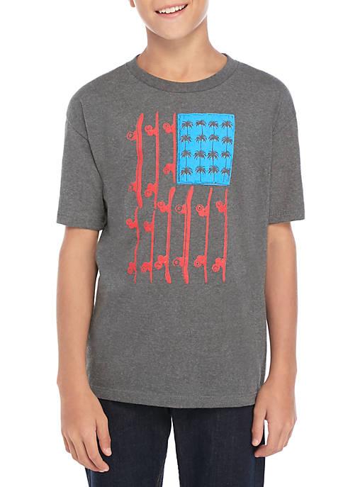 Boys 8-20 Flag Decks T Shirt