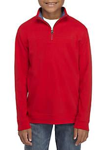 Boys 8 - 20 Interlock Quarter Zip Pullover