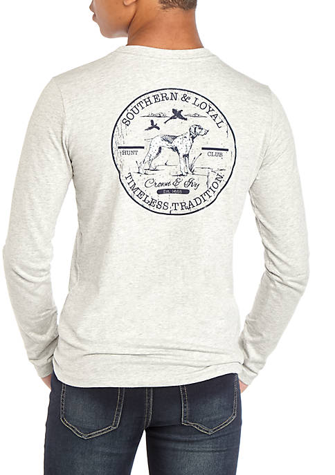 Crown & Ivy™ Boys 8-20 Long Sleeve Graphic
