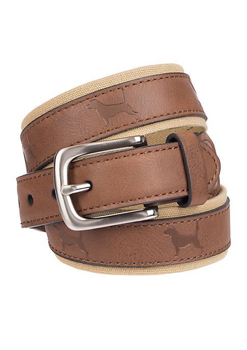 Crown & Ivy™ Boys 4-20 Casual Belt