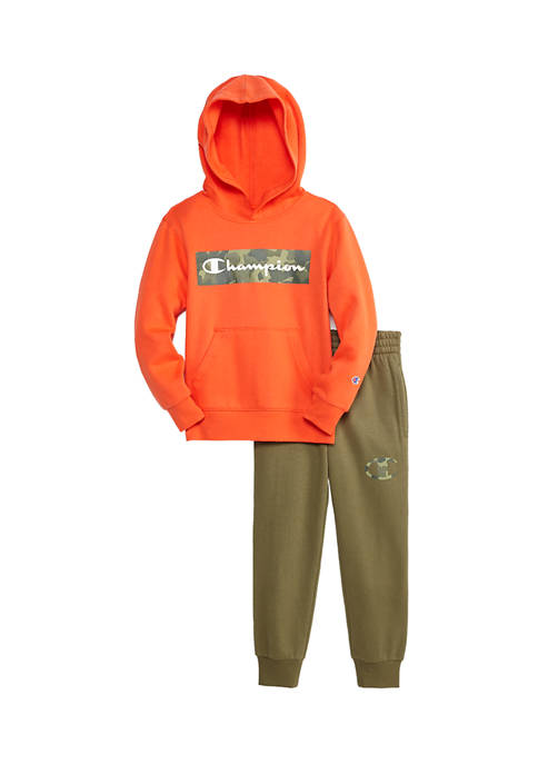 Champion® Boys 4-7 Camo Backdrop Graphic Jogger Set