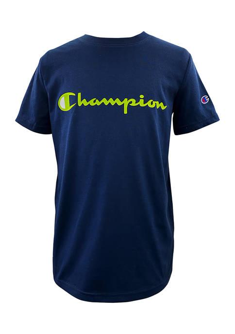 Champion® Boys 8-20 Short Sleeve Graphic T-Shirt