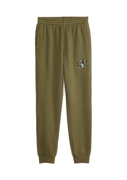 Champion® Boys 8-20 Camo Filled Logo Joggers