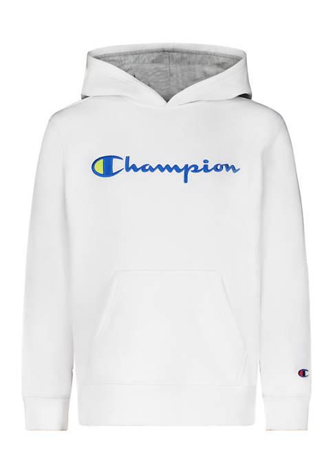 Champion® Boys 8-20 Signature Graphic Hoodie