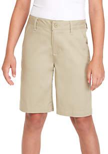 Boys 8-20 Flat Front Shorts