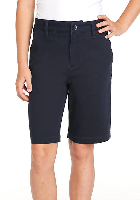 J. Khaki® Uniforms Boys 8-20 Flat Front Shorts