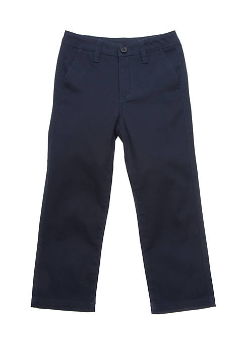 J. Khaki® Uniforms Boys 4-7 Flat Front Pant