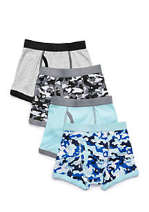 Toddler Boys 4-Pack Boxer Briefs