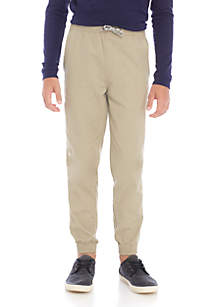 Boys 8-20 Stretch Ripstop Jogger