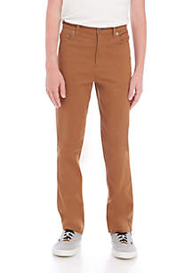 Boys 8-20 5-Pocket Stretch Twill Pants