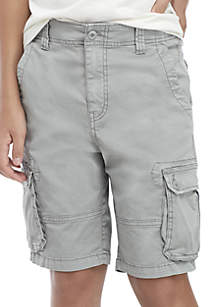 3c0d30077df9 ... TRUE CRAFT Boys 8-20 Twill Cargo Shorts