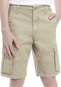 TRUE CRAFT Boys 8-20 Twill Cargo Shorts