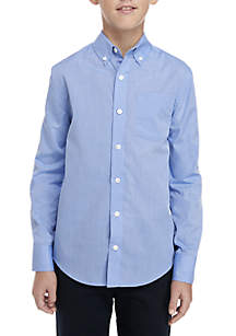 Boys 8-20 Long Sleeve Easy Care Oxford Shirt