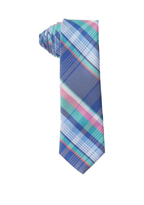 Crown & Ivy™ Boys Fashion Weston Plaid Tie