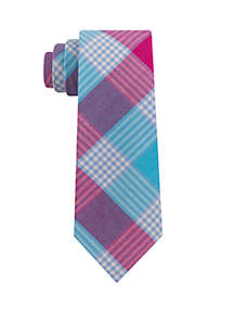 Crown & Ivy™ Boys Pink Aqua Tie