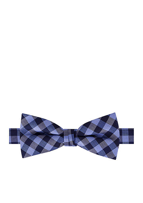 Crown & Ivy™ Boys 4-7 Plaid Bow Tie