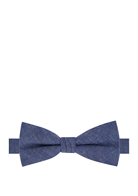 Crown & Ivy™ Boys 4-8 Classic Chambray Bow