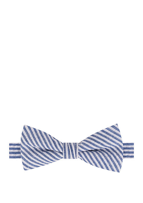 Crown & Ivy™ Boys Seersucker Bow Tie