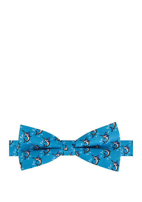 Crown & Ivy™ Boys Marlin Print Bow Tie