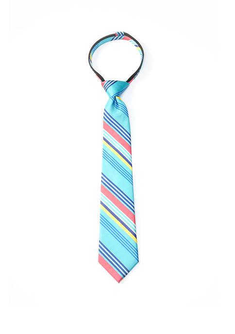 Crown & Ivy™ Boys Fashion Mixed Stripe Tie