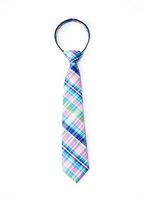 Crown & Ivy™ Boys Fashion Lexington Plaid Tie