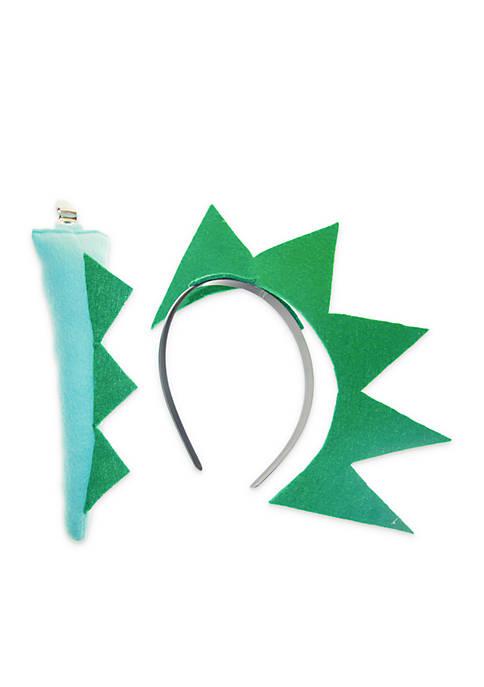Toddler Boys Dino and Tail Headband