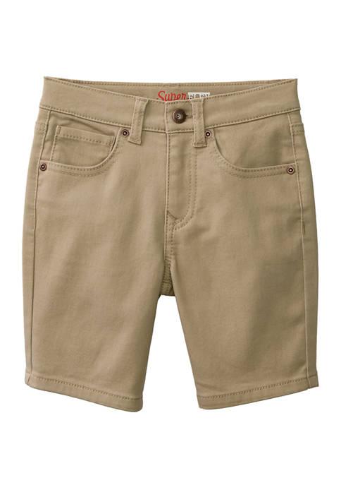 Boys 4-7 Knit Denim Shorts