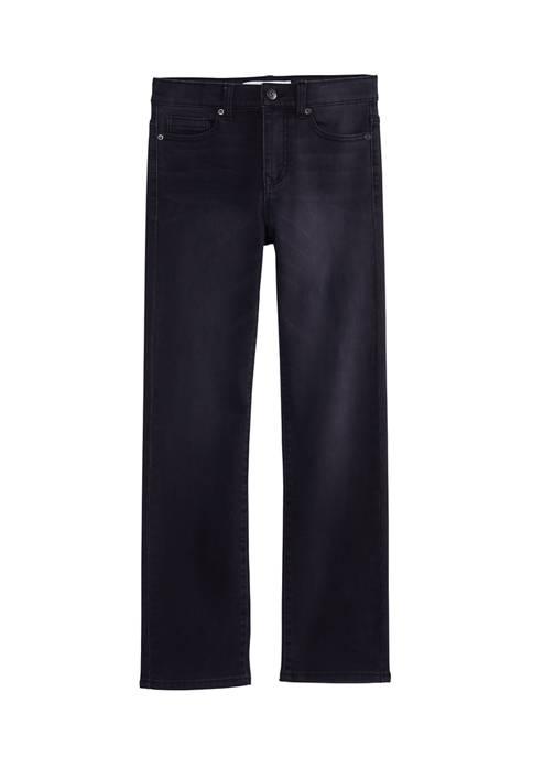 Boys 8-20 Straight Knit Jeans