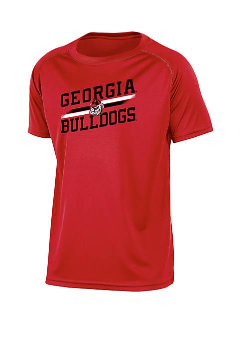 Boys 8-20 Georgia Bulldogs Raglan Training Tee