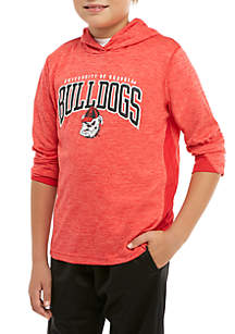 Boys 8-20 Georgia Bulldogs Hashmark Hooded Tee