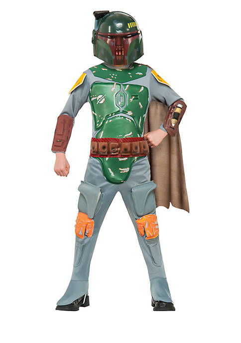 Rubie's Boys 8-20 Star Wars Boba Fett Costume