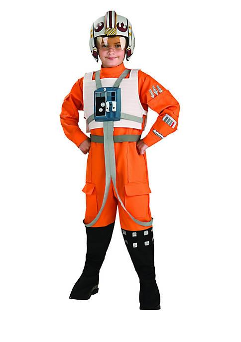 Boys 8-20 Star Wars X-Wing Fighter Pilot Child Costume