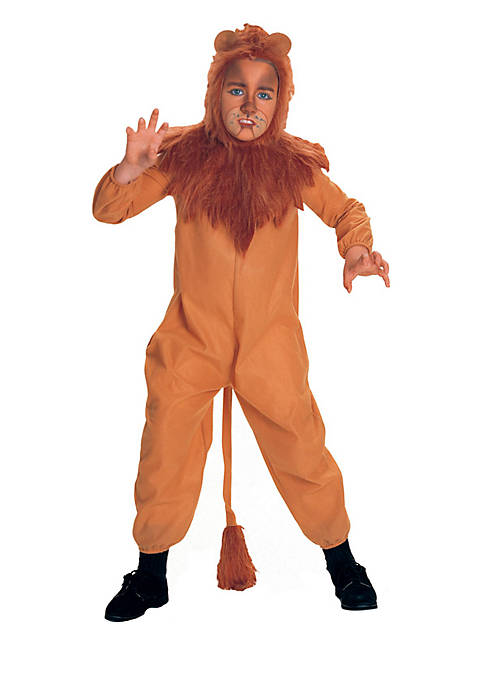 Boys 8-20 The Wizard of Oz Cowardly Lion Child Costume