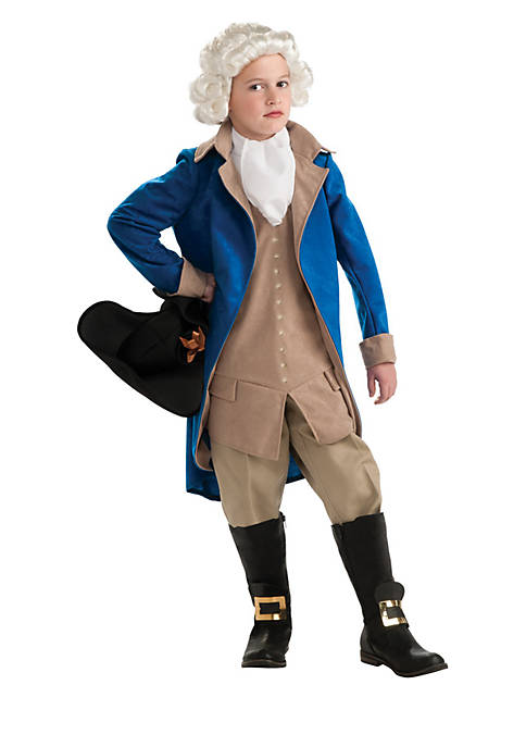 Rubie's Boys 8-20 George Washington Child Costume