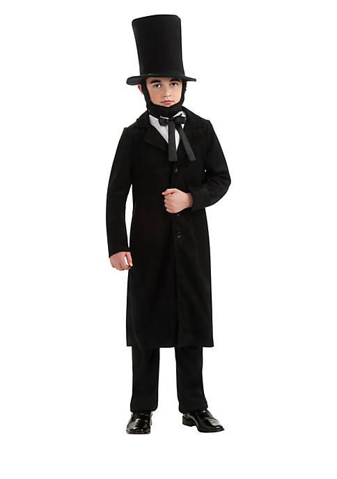 Boys 8-20 Abraham Lincoln Child Costume