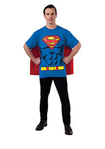 Rubie's Superman T-Shirt Adult Costume Kit