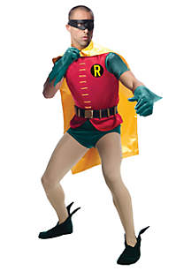 Rubie's Batman Classic 1966 Series Grand Heritage Robin Adult Costume