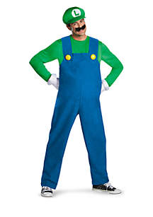 Rubie's Super Mario Brothers Luigi Adult Plus Costume