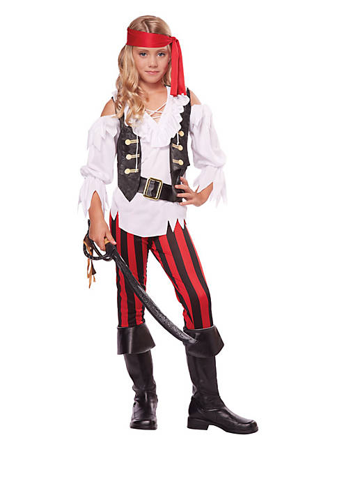 Rubie's Girls 7-16 Posh Pirate Child Costume