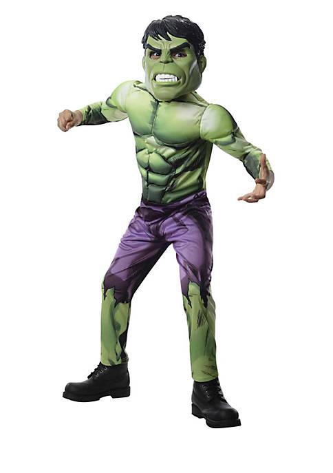 Rubie's Boys 8-20 Avengers Assemble Deluxe Hulk Child