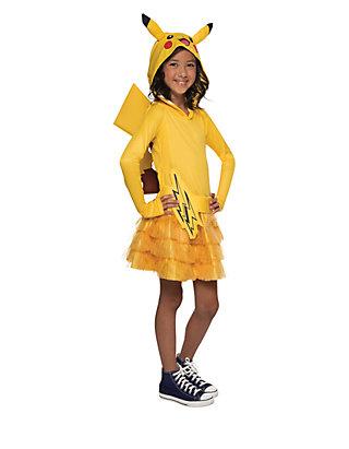 83e7ad71 Rubie's Girls 7-16 Pokemon Pikachu Hoodie Dress | belk