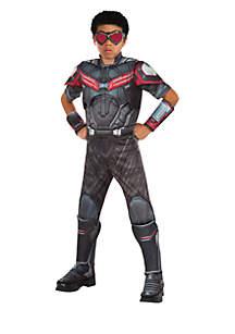 Rubie's Marvels Captain America Civil War Boys Deluxe Muscle Chest Falcon Costume