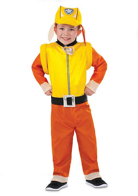 Rubie's Boys 4-7 Paw Patrol Rubble Classic Costume
