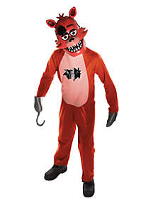 Rubie's Boys 8-20 Five Nights at Freddys Foxy Costume